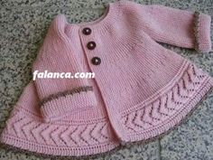 Diy Crafts - 100 Crochet Baby Vest Pattern Free - Crochet Tricks and Tips Hooded Poncho Pattern, Baby Cardigan Knitting Pattern, Vest Pattern, Knitting Patterns Free, Free Knitting, Baby Knitting, Free Pattern, Baby Girl Sweaters, Crochet Fall