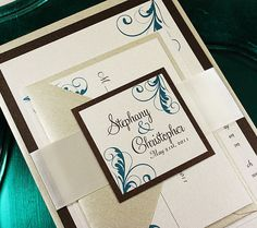 Timeless Antiquity Swirls Wedding Invitation Suite  by JWDPaperie, $3.00