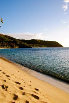 Relaxing on the beaches in Nadi, Fiji