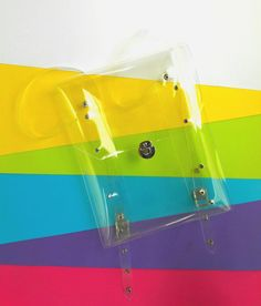 Clear Backpack90s backpack Transparent by YPSILONBAGS on Etsy
