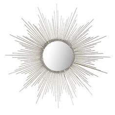 We'd say that sunburst mirrors are making quite a comeback, but the fact is, they never really faded. From Louis XIV to fans of Hollywood Regency style, this look is always a bright idea. In fact, you loved our Gold Burst Wall Decor so much that we added a new color—silver—for a brilliantly regal impact. The center mirror is framed with braided wire, and an antiqued silver finish completes the effect. If history is any indication, you'll love it.