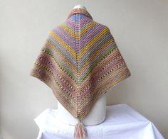 hand-knit-shawl-triangle-scarf-pastel