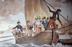 La famiglia Bonaparte cacciata da Ajiaccio