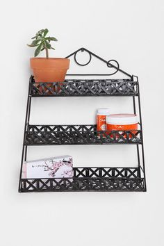 Basketweave Shelf  Online Only
