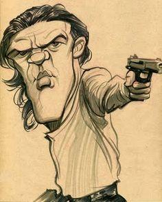 Antonio Banderas by Zack Wallenfang
