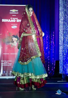 Stunning design at the 5th Annual Suhaag Show held in Ottawaon November 24th, 2013.  Photo by: Smiles Photography #southasian