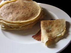 Βασική συνταγή για πεντανόστιμες κρέπες Sweet Recipes, Cooking, Breakfast, Desserts, Milk, Food, Water, Dinners, Kitchen