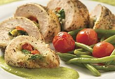 Food-Chicken stuffed on Pinterest | Stuffed Chicken, Stuffed Chicken ...