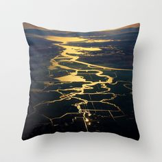 magic light Throw Pillow by Marianna Tankelevich - $20.00