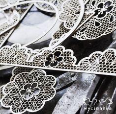 Wycinanka's lasercut laces Laser Cutting, Vogue, Diamond, Lace, Jewelry, Products, Fashion, Moda, Jewlery