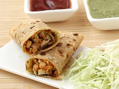 Paneer roll, a tongue tickling and spicy masala of grated or crumbled paneer wrapped in chapati or paratha, is a treat to taste buds at anytime anywhere. Paneer Wraps prepared with this recipe have stuffing of grated paneer sautéed in spicy masala. Wrap Recipes, Indian Food Recipes, Vegetarian Recipes, Snack Recipes, Cooking Recipes, Healthy Recipes, Ethnic Recipes, Breakfast Recipes, Healthy Food