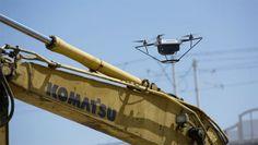 Robotbulldozers en drones: de toekomst van het bouwen?