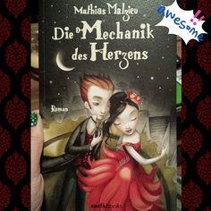 Danke für den Buchtipp @mrsmara Ich fands bezaubernd, auch wenn das Ende schon traurig ist... #diemechanikdesherzens #mathiasmalzieu #lovebooks