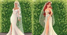 primarios Princesa Disney, How Beautiful, Formal Dresses, Wedding Dresses, Pregnancy, That Look, Abs, Engagement, Creative