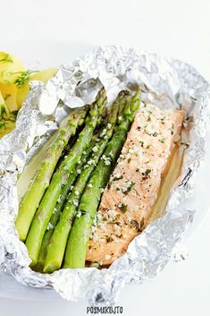 Tuna, Asparagus, Grilling, Cooking Recipes, Fish, Vegetables, Fitness, Diet, Kitchens