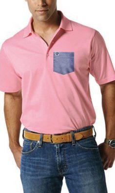 Frocket- Adult Men's Cotton Polo