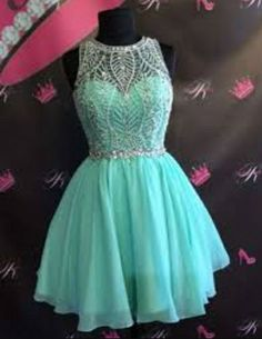 A-Line Beading Short Homecoming Dress,Short Prom Dresses,Cocktail… More Source by violetalabliuc dresses short Junior Homecoming Dresses, Cute Prom Dresses, Dresses Short, Sweet 16 Dresses, Grad Dresses, Pretty Dresses, Beautiful Dresses, Dress Outfits, Formal Dresses