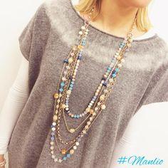 Collana €44 Per spedizioni WhatsApp 329.0010906 #collane #necklaces #jewels #fashion #gems #stones #accessories #crystals #style #fashionjewelry