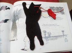 marque-page avec chat : jamais sans ma souris, 2 de Caprices de chats sur DaWanda.com