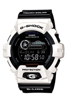 Shop men's and women's digital watches from G-SHOCK. G-SHOCK blends bold style with the most durable digital and analog-digital watches in the industry. Casio G-shock, Casio Watch, Casio G Shock Watches, Sport Watches, Cool Watches, Watches For Men, Men's Watches, Fashion Watches, Unique Watches