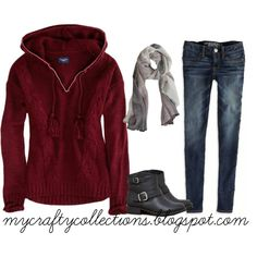 Women's Outfit - Love, love, love that sweater.