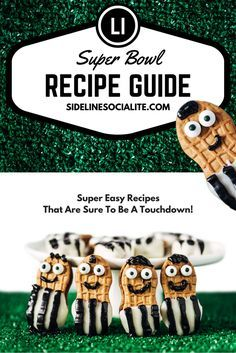 Free Super Bowl Recipe Guide to download. One stop shop for food to serve at your Super Bowl or Game Day party | sidelinesocialite.com