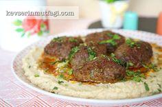 Humus Yatağında Köfte Tarifi | Kevserin Mutfağı - Yemek Tarifleri