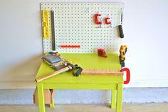 Child's Workbench from How We Montessori
