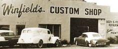 Gene Winfield's shop.