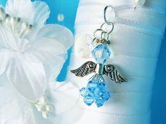 Something Blue Swarovski Crystal Angel Bridal Bouquet Charm Aqua Blue Crystal Angel Wedding Bouquet Charm Wedding Bouquet Charms, Bridal Bouquet Blue, Wedding Bouquets, Blue Crystals, Swarovski Crystals, Angel Bridal, Something Blue Bridal, Blue Gift, Etsy Handmade