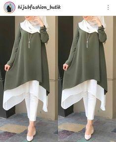 - Kalita Tunik Price: Material: Wolf Size: All size . 50 Best Abaya Designs For 2020 Abaya Fashion, Modest Fashion, Fashion Outfits, Muslim Women Fashion, Islamic Fashion, Stylish Hijab, Stylish Dresses, Hijab Chic, Kurti Designs Party Wear