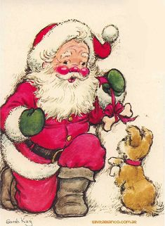 Santa Claus Sarah Kay