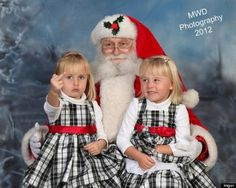 Best Santa Picture? Little Girl Shows Middle Finger To Camera ........ Apparently this child picked the best moment ever to complain about the boo-boo on her middle finger when she got her picture taken with Santa.