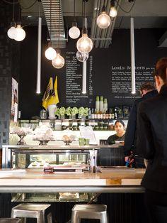 Bakery Café / Coffee Shop, i like the chalk board wall