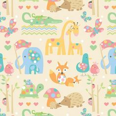 FOREST FAMILY 5' WRAP 12/PK - Gift Wrap