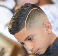Lil Boy Haircuts, Boys Fade Haircut, Hairstyles Haircuts, Haircuts For Men, Kids Haircut Styles, Haircut Designs, Hair Styles 2016, Long Hair Styles, Cool Hair Designs