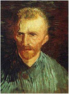 Vincent van Gogh Painting, Oil on Canvas Paris: Summer, 1887 Van Gogh Museum Amsterdam, The Netherlands, Europe F: 77v, JH: 1304 Van Gogh: Self-PortraitVan Gogh Gallery
