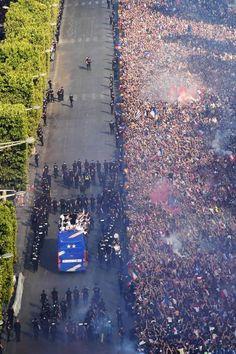 World Cup 2018, Fifa World Cup, Champion Du Monde Foot, Football Soccer, Blues, Paris, Sport, People, Photos