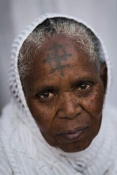 An Ethiopian Orthodox Christian pilgrim poses for a portrait at Deir El Sultan in the Church of the Holy Sepulcher, traditionally believed by many to be the site of the crucifixion and burial of Jesus Christ, in Jerusalem's Old City. Photo: AP