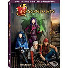 Descendants DVD (DVD + Free Isle of the Lost Bracelet Inside)