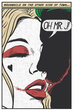 Mistah J & Harley Quinn Harley And Joker Love, Joker And Harley Quinn, Comic Sans, Harley Quenn, Joker Art, Joker Comic, Batman Comics, Gotham Batman, Batman Art
