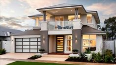 Breath-taking Two Storey House Inspiration with Interior Design - Pinoy House Plans Modern House Plans, Modern House Design, Home Modern, Architecture Design, Amazing Architecture, Contemporary Architecture, Contemporary Building, Contemporary Garden, Modern Architecture Homes