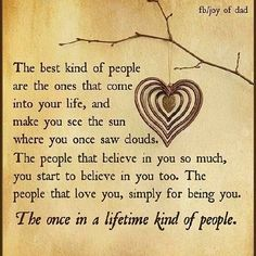 The best kind of people are...you.