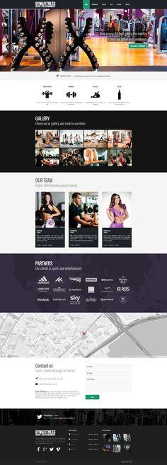 Gym & Fitness - Mojo Themes   #wordpress #premium #theme #responsive #flatdesign #webdesign #design #graphicdesign