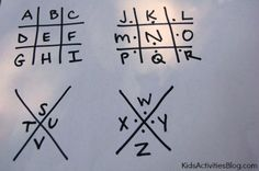 These 5 secret codes for kids to write a coded letter are super fun and very covert! Each code has a simple solution, once you know the secret!