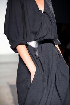 \\ charcoal grey dress