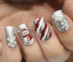 christmas nail art designs pictures - Styles 2d