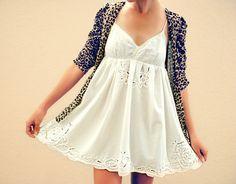 Papelera Para Couture: DIY mantel + slip = vestido de verano