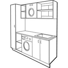 Bunnings Laundry Tub Cabinet : Alfa img - Showing > Laundry Cabinets Bunnings