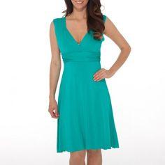 Women's Sleeveless Empire Waist Dress from Land's End Canvas line ...